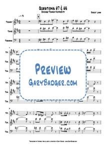 Chicago - Questions 67 & 68 - Trumpet, Tenor, Trombone
