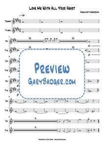 Engelbert Humperdinck - Love Me With All Your Heart - Trumpet