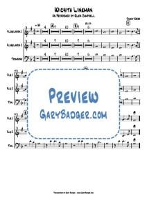 Glen Campbell Jimmy Webb - Wichita Lineman - Flugelhorn Trombone