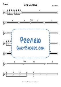 James Brown - Sex Machine - Trumpet