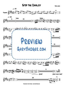 Jona Lewie - Stop The Cavalry - Trumpets