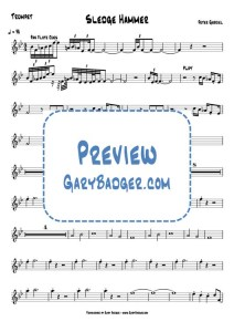 Peter Gabriel - Sledge Hammer - Trumpet