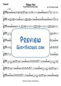 Sly & The Family Stone - Thank You - Trumpet