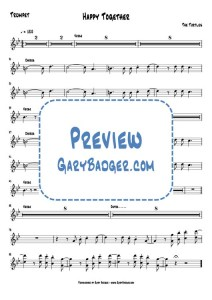 The Turtles - Happy Together - Trumpet