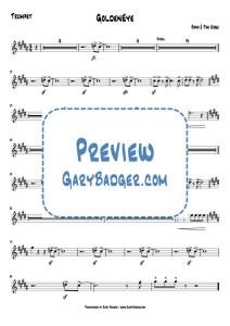 Tina Turner - James Bond GoldenEye - Trumpet