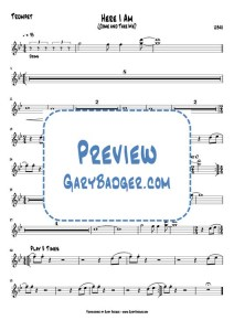 UB40 - Here I Am - Trumpet