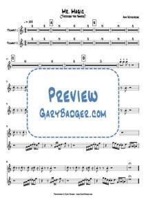 Amy Winehouse - Mr. Magic Trumpet Chart.