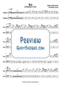Keith - 98.6 trombone chart