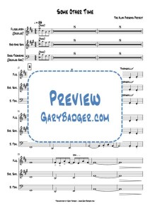 The Alan Parsons Project - Some Other Time - Flugelhorn Baritone Sax Trombone charts